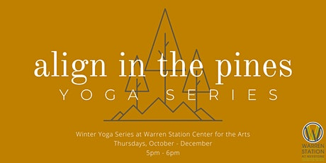 Align in the Pines: Yoga Series tickets