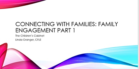 Connecting with Families: Family Engagement tickets