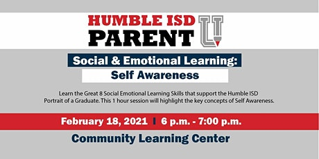 Social & Emotional Learning Series: Self Awareness tickets