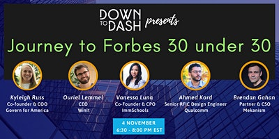 Journey to Forbes 30 under 30: Learning from the honorees