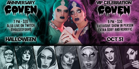 2nd Anniversary - COVEN Drag Show billets