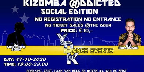 Kizomba @ddicted Social/Practice Edition tickets