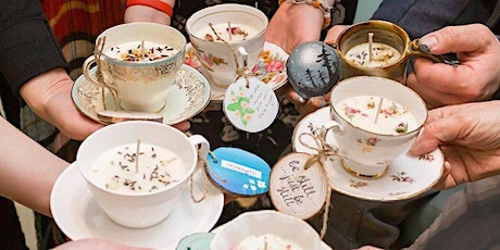 Virtual Teacup Candle Making Workshop tickets