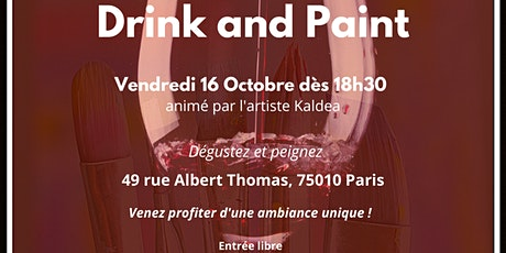 Afterwork « Drink and paint » 2ème édition tickets
