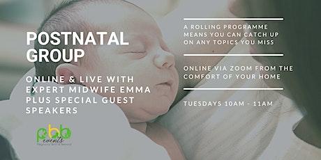 Postnatal Group tickets