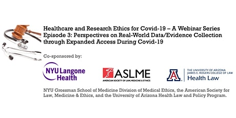 PERSPECTIVES ON REAL-WORLD EVIDENCE FROM EXPANDED ACCESS DURING COVID-19 tickets