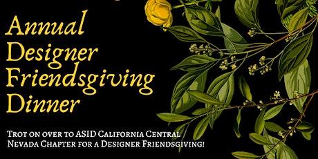 Designer Friendsgiving: with Chef David Watkins