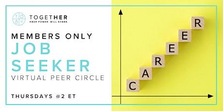 Together Digital Job-Seekers Virtual Peer Circle tickets