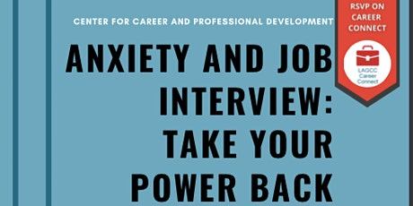 Anxiety and Job Interview: Take Your Power Back tickets