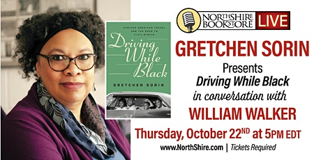"""Northshire Live: Gretchen Sorin """"Driving While Black"""" tickets"""