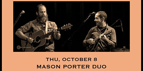 Mason Porter (Duo) - Tailgate Takeout Series tickets