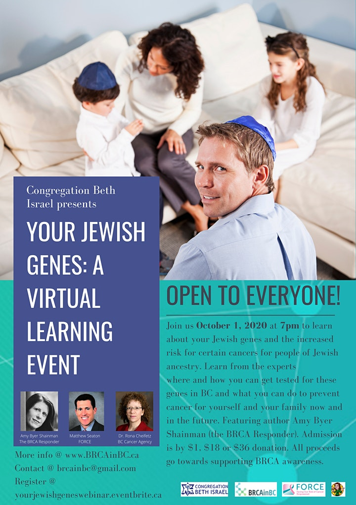 Your Jewish Genes: A Virtual Learning Event image
