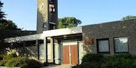 10:00 uur Ds. D.M. Heikoop, wijk Sion, Heilig Avondmaal, niet zingen dienst tickets