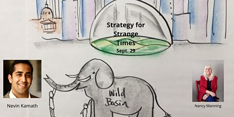 STRATEGY FOR STRANGE TIMES tickets