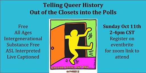 Telling Queer History: Out of the Closet & Into the Polls