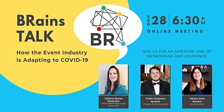 BRains TALK: How the Events Industry is Adapting to COVID-19 tickets