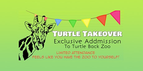Turtle Takeover at Turtle Back Zoo tickets