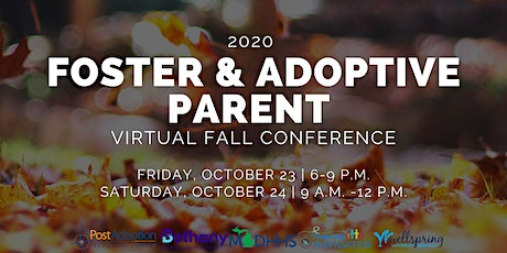 Foster and Adoptive Parent Virtual 2020 Fall Conference tickets