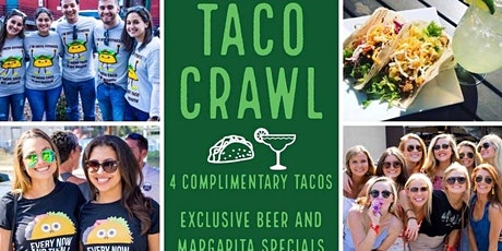 3rd Annual Taco & Tequila Crawl: Greenville boletos