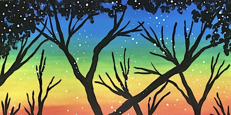 """Painting and Kiddos Online Webinar """"Rainbow Trees"""" tickets"""