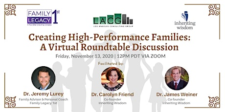 Creating High-Performance Families: A Virtual Roundtable Discussion tickets