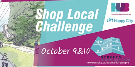 Streets for People, Shop Local Challenge tickets