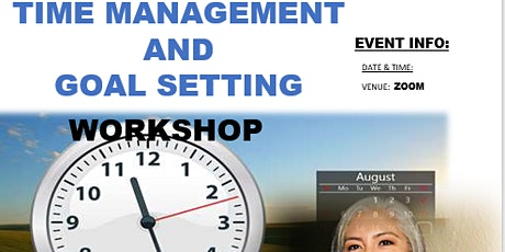 Time Management and Goal Setting tickets