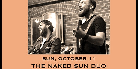 The Naked Sun (Duo) - Tailgate Takeout Series tickets