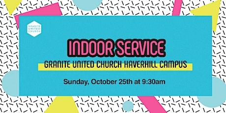Haverhill 9:30 Service Sunday, Oct 25th tickets