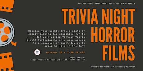 Virtual Trivia Night: Horror Films tickets