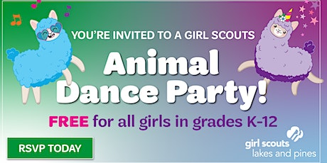 Animal Dance Party: Girl Scout Sign-up (Browerville) tickets