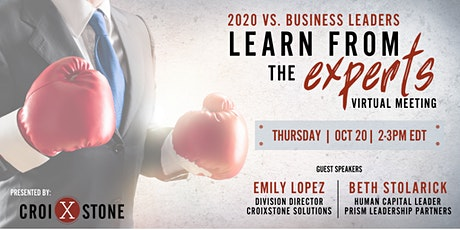 2020 vs. Business Leaders:  Learn from the Experts tickets