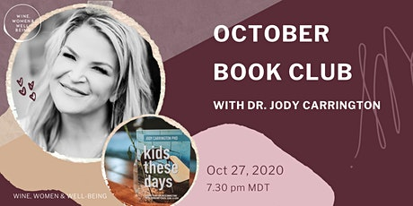 October Book Club with Dr. Jody Carrington tickets