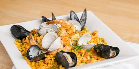 Pantry Paella - Online Cooking Class by Cozymeal™ billets