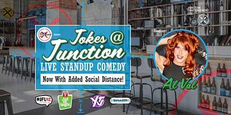 Junction Craft Brewery presents Jokes at Junction with Al Val tickets