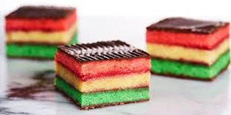 Italian Rainbow Cookie Class at Soule' Studio