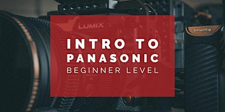 Intro to Panasonic tickets