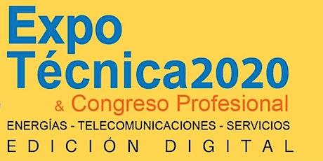 ExpoTécnica Virtual 2020 entradas