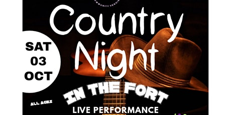 Country Music Night In The Fort tickets