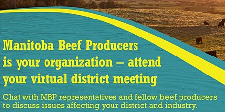 District 2, 4, 6, 8, 10, 12, 14 meeting - Manitoba Beef Producers tickets