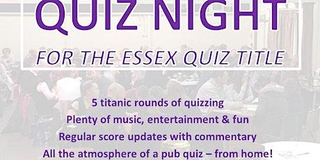 Essex Quiz Night tickets
