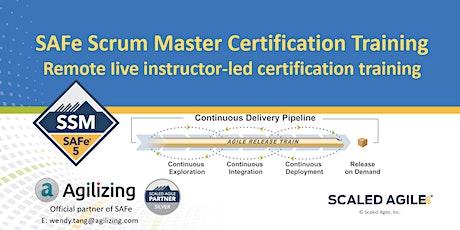 SAFe Scrum Master Certification - 2 days tickets