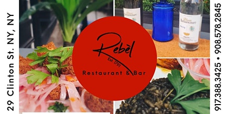Rebèl Brunch Experience featuring Chef Banks tickets