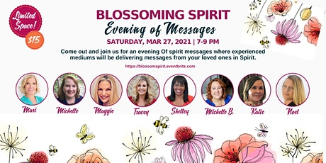 Blossoming Spirit-Evening of Messages tickets