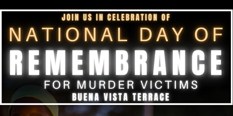 National Day of Remembrance Art Memorial tickets