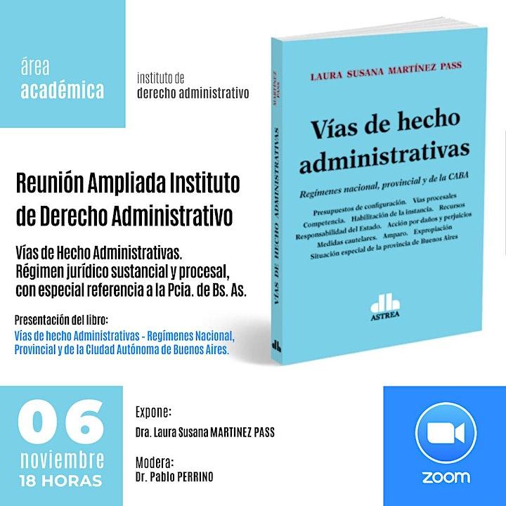 Imagen de Reunión ampliada Instituto de Derecho Administrativo