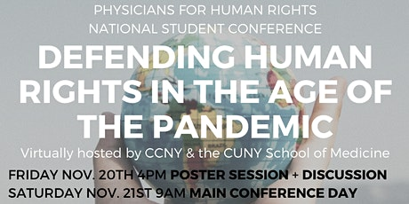 Physicians for Human Rights National Student Conference tickets