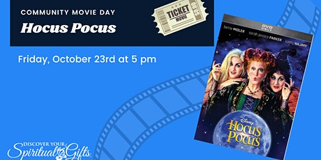 Community Movie Night: Hocus Pocus tickets