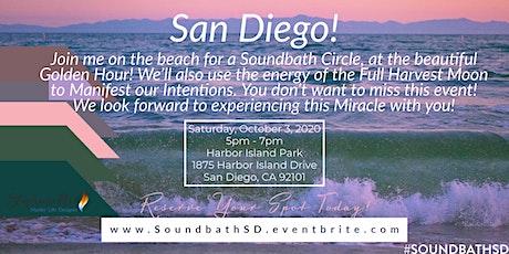 Golden Hour Healing Soundbath Circle tickets