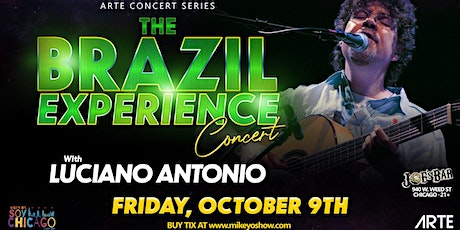 The Brazilian Experience with Luciano Antonio tickets